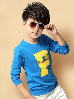 Boy's Cotton / Rayon Hoodie & Sweatshirt,Winter / Spring / Fall Print