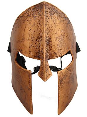 Maska Voják/Bojovník Festival/Svátek Halloweenské kostýmy Hnědá Jednobarevné Maska Halloween / Karneval Unisex Pryskyřice