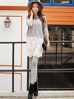 dabuwawa kvinder ensfarvet / syning blonder legging