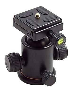 hy-3 naklápěcí držák hlavice z hliníkové slitiny míč s uvolňováním rychloupínací destičkou pro digitální fotoaparát max zatížení 5kg