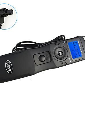 sidande® 7102 tempo lcd lapso intervalometer controle remoto do obturador temporizador para Canon 7D / 6d / 5d2 / 5D3