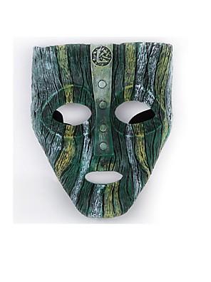 Máscara Fantasias Festival/Celebração Trajes da Noite das Bruxas Verde / Cinzento Cor Única Máscara Dia Das Bruxas / Carnaval Unisexo