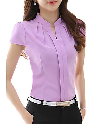 רגיל-דק-פשוטה-חולצה(פוליאסטר)