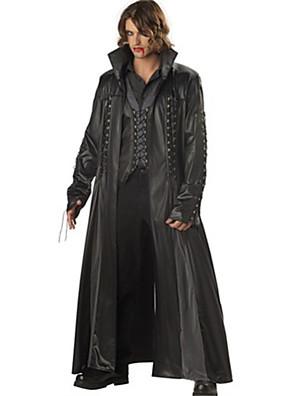Cosplay Kostýmy Filmové a TV kostýmy Festival/Svátek Halloweenské kostýmy Černá Jednobarevné Kabát / Vrchní deska / Kalhoty / Více doplňků