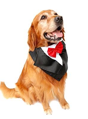 Gatos / Cães Colares / Gravata/Gravata Borboleta Vermelho / Azul / Púrpura Roupas para Cães Inverno / Verão / Primavera/Outono Laço