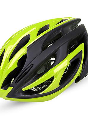 Hora / Cesta-Unisex-Cyklistika / Horská cyklistika / Silniční cyklistika / Rekreační cyklistika-Helma(Zelená / Červená / Nebeská modř,PC