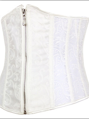 Burvogue Women's Slim Steel Boned Underbust Body Shaper Bustier