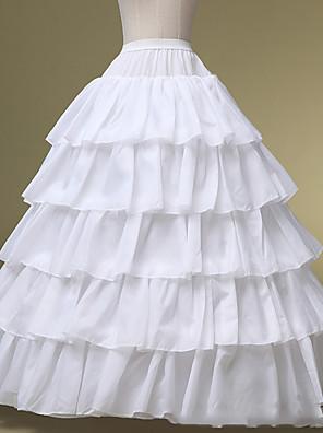 תחתונית  סליפ שמלת נשף אורךTea 5 פוליאסטר לבן
