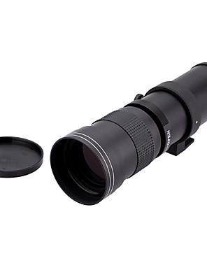 420-800mm f / 8,3-16 szuper-telefotó zoom objektív manuális t2-t nikon szerelő gyűrű adapter Nikon D5100 D7000 D800 D90 D600