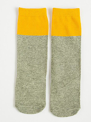 Casual/hétköznapi Pamut Egyszínű Tél / ŐszLány-Alsónemű és zokni