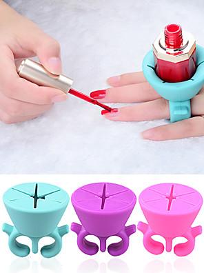 Nail Art Manikűr Tool Kit 1pcs / Nail Polish Holder