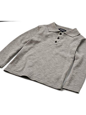 Boy's Casual/Daily Solid Sweater & CardiganCotton All Seasons Blue / Gray