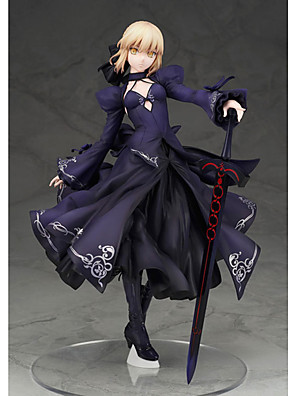 Fate/stay night Saber PVC 22cm Anime Čísla akce Stavebnice Doll Toy
