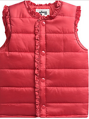 Boy Casual/Daily Solid Vest,Polyester Winter / Fall Long Sleeve Regular