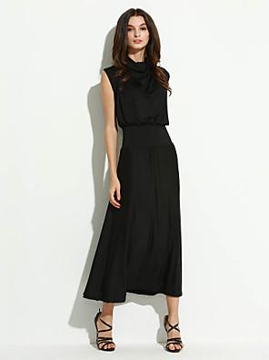 שמלה - מקסי - תערובות כותנה - מסיבה - לא כולל חגורה