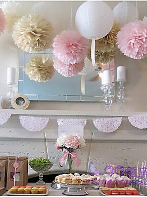 Perlen-Papier / Umweltfreundliches Material Hochzeits-Dekorationen-15piece / Set Frühling / Sommer / Herbst / Winter Personalisiert