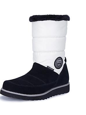 מגפיים עד אמצע השוק-לנשים-ספורט שלג(לבן / שחור)