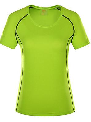 Dámské Trička / Vrchní část oděvu Fitness / Dostihy / Volnočasové sportyProdyšné / Rychleschnoucí / Větruvzdorné / Odolný vůči UV záření