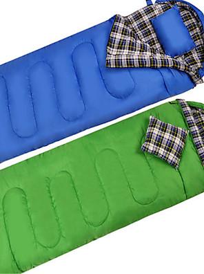 שק שינה שק שינה מלבני יחיד 10 כותנה חלולה / למטה 400גרם 180X30 צעידה / קמפינג / לטייל / חוץ / בתוך הביתעמיד למים / נשימה / מוגן מגשם /