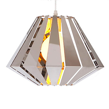1 - Light Modern Pendant Light in Geometrical Feature