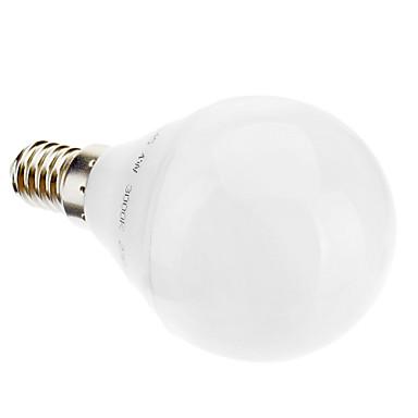 5w e14 lampadine globo led g45 28 350 lm bianco caldo ac for Lampadine a led e14