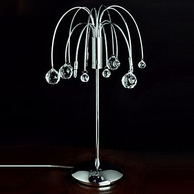 Crystal chandelier type table lamp 762554 2016 Types of table lamps