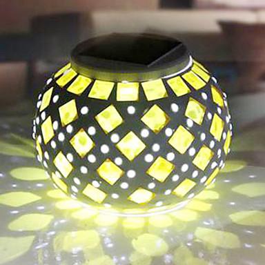 modern moza ek rgb kleur veranderende led zonne energie. Black Bedroom Furniture Sets. Home Design Ideas