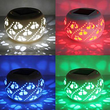 Moderne uitgeholde led zonne energie tuin verlichting solar light table solar kleine night light - Kleine zonne lamp ...