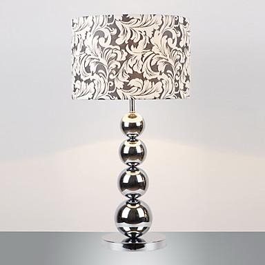 Lampada da tavolo moderna minimalista con sfere di metallo - Lampada moderna da tavolo ...