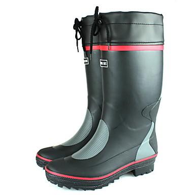 s plastic flat heel waterproof comfort boots more