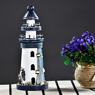 """10""""Country Style Lighthouse Type Collectible"""