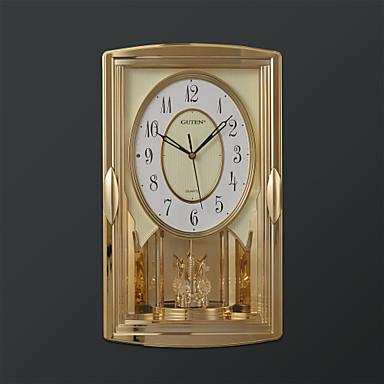 17 5 h estilo moderno controlada por la luz y melod a - Reloj de pared moderno ...