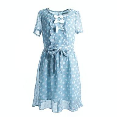 Vestidos florais azuis