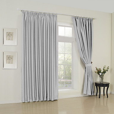 Two Panels Modern Solid ture Living Room Polyester Panel ...