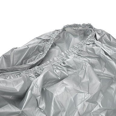 Motorcycle Sunscreen Dustproof Cover - Silver (Size-L)