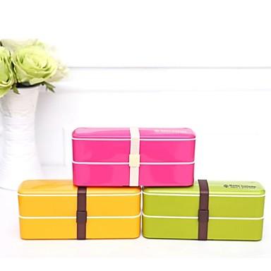 plastique de couleur de sucrerie double portable sushi. Black Bedroom Furniture Sets. Home Design Ideas