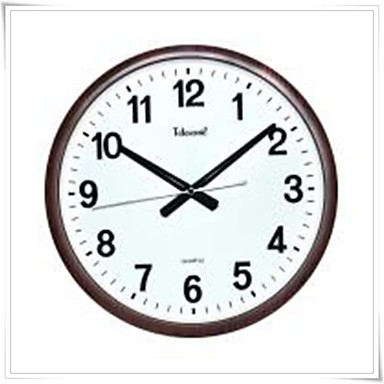 Telesonic 14 h braga art imitaci n forma circular del - Relojes modernos de pared ...