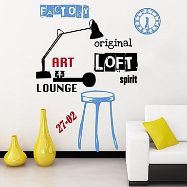 Createforlife ® Light Clock artistico per bambini Camera dei bambini ...