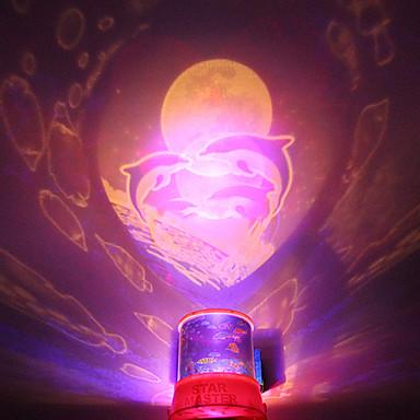 DIY Shark Romantic Galaxy Starry Sky Projector Night Light ...