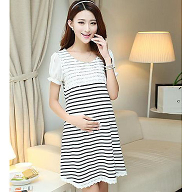 v tements de maternit mode maternit de maternit robes manches courtes robe d 39 t sexy de. Black Bedroom Furniture Sets. Home Design Ideas