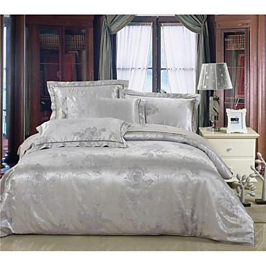 ensembles housse de couette shuian en m lange soie coton de 2015. Black Bedroom Furniture Sets. Home Design Ideas