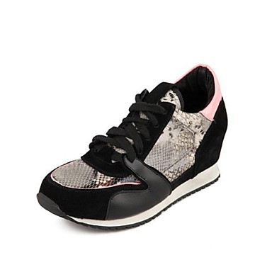 hip hop schuhe der frauen komfort runde kappe flachem absatz leder tanz sneaker schuhe mehr. Black Bedroom Furniture Sets. Home Design Ideas