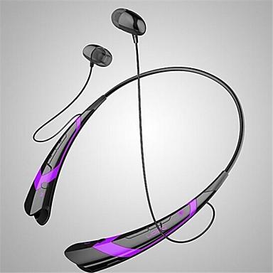 how to wear neckband headphones