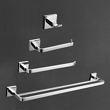 Contemporary brass chrome finish bathroom accessory sets for The collection bathroom accessories