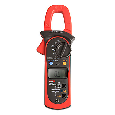 Buy UNI-T UT204 LCD Digital Clamp Multimeters True RMS 600V/400A 10Hz~1MHz Multimeter