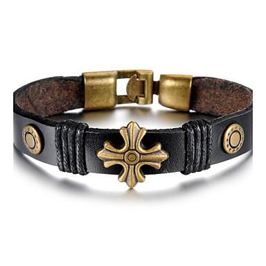 bronze legierung nieten m nner kreuz armband 1933572 2017. Black Bedroom Furniture Sets. Home Design Ideas
