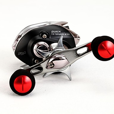 Buy Fishmore Brand Baitcasting Reel BLACK REVO-R 10+1BB Mm/M 0.29-110 0.32-90