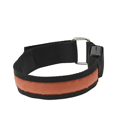 Buy LED Light Arm Band Strap Armband Orange (2xCR2032)