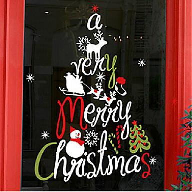 Frohe weihnachten k nstlerischen abstrakten baum for Fensterfolie weihnachten