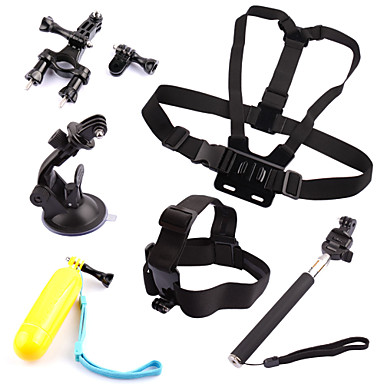 Chest Harness Front Mounting Monopod Suction Cup Straps Hand Grips/Finger Grooves Mount/Holder Floating For Gopro Hero 2 Gopro Hero 3